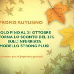 PROMOZIONE AUTUNNO: STRONG PLUS scontata del 35% fino al 31 ottobre!